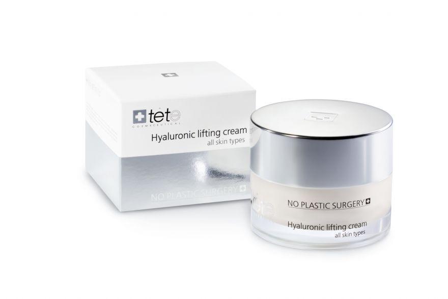 Липосомальный лифтинг-крем с гиалуроновой кислотой и пептидами TETe Hyaluronic Lifting Cream