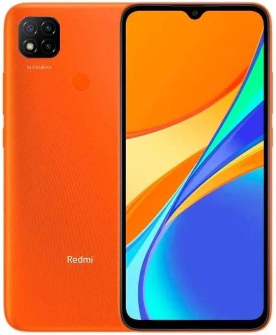 Смартфон Xiaomi Redmi 9C 3/64GB NFC Sunrise Orange