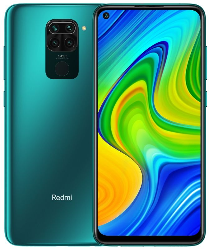 Смартфон Xiaomi Redmi Note 9 4/128Gb (NFC) Forest Green