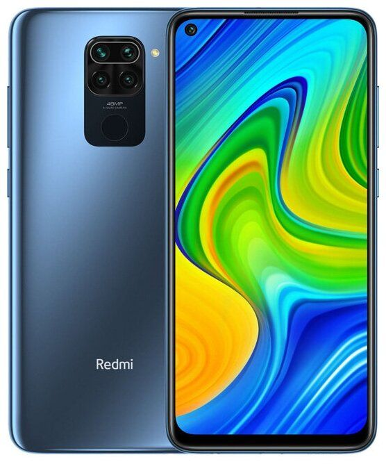 Смартфон Xiaomi Redmi Note 9 3/64Gb (NFC) Midnight Gray