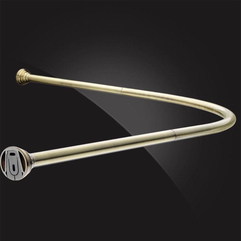 Monterno CR-4-Bronze Карниз угловой для ванной