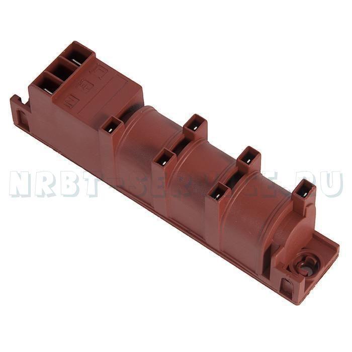 Блок электророзжига 6 конт (без заземления) WC013                                                   , , шт