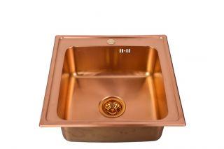 Мойка врезная Seaman Eco Wien SWT-5050 Copper медь