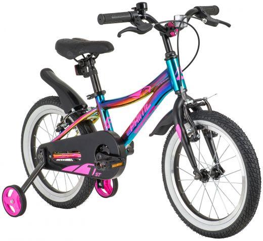 Велосипед Novatrack Prime 16 Фиолетовый
