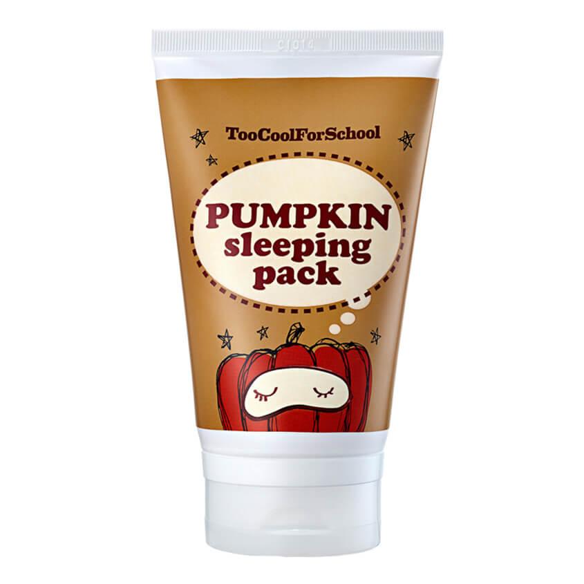 Ночная маска с тыквой Tool cool for school Pumpkin Sleeping Pack Mini, 30 мл ХИТ