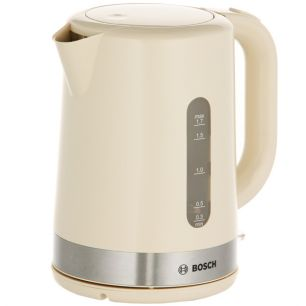 Чайник Bosch TWK7407, бежевый