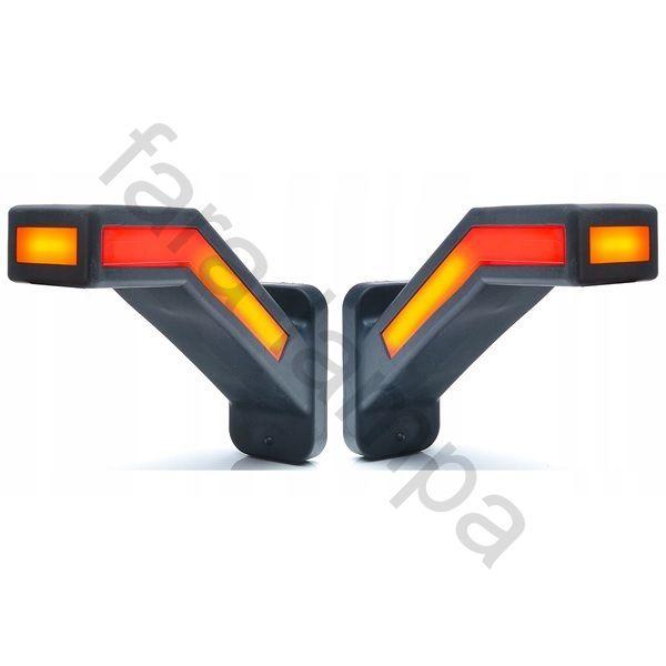 Габаритные фонари для прицепов светодиодные с поворотником