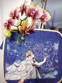 """""""Созвездие любви"""". Схема для вышивания крестиком. Отшив."""