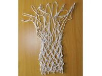 Сетка баскетбольная белая. Диамтер нити: 4 мм, артикул 15277 (пара)