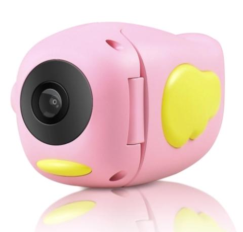 Детская видеокамера Kids Camera с красивым дизайном в форме птички  - прекрасный подарок для творческого, любознательного ребенка.