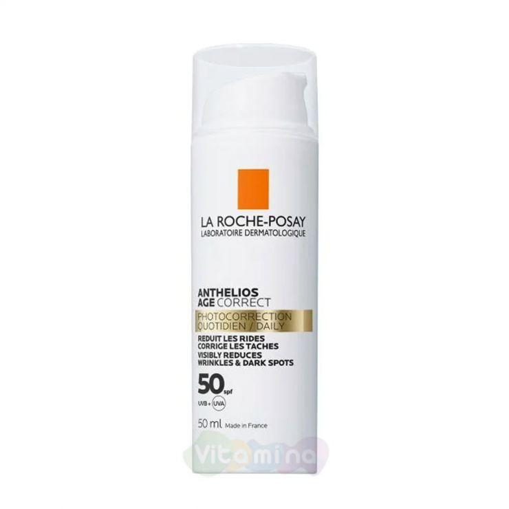 La Roche-Posay Anthelios Солнцезащитный антивозрастной крем для лица SPF50, 50 мл