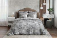 Бязь 1.5 спальный [серый] Алабама постельное белье