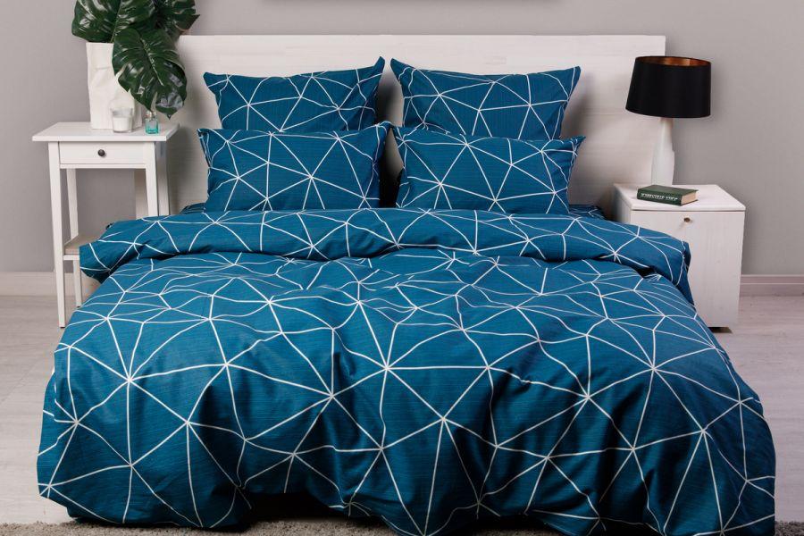 Бязь 2-х спальный с евро [в ассортименте] Грань постельное белье