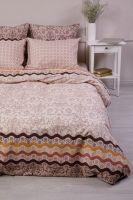 Бязь 2-х спальный с евро [в ассортименте] Арабика постельное белье