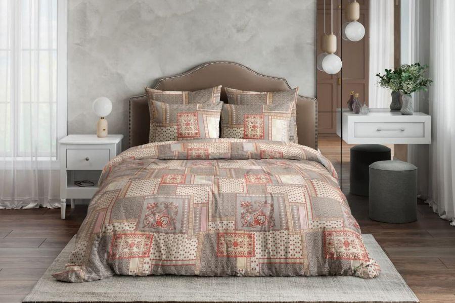 Бязь семейный [коричневый] Алабама постельное белье