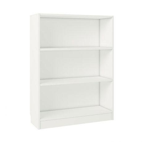 Стеллаж Polini Home Smart Вертикальный, 3 секции, 80x28x106 см, белый