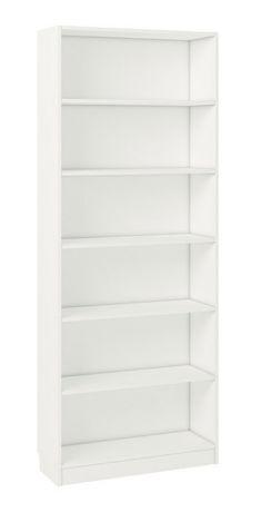 Стеллаж Polini Home Smart Вертикальный, 6 секций, 80x28x202 см, белый