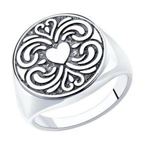 Кольцо из серебра 95010165 SOKOLOV