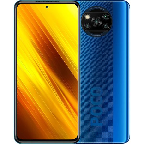 Смартфон Xiaomi Poco X3 6/64Gb Cobalt Blue (NFC)