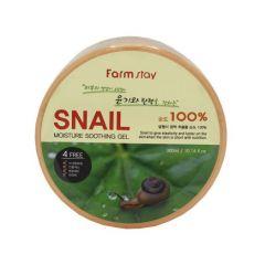 270064 FarmStay Увлажняющий успокаивающий гель c муцином улитки Snail Moisture Soothing Gel