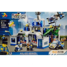 Конструктор City Полицейский участок
