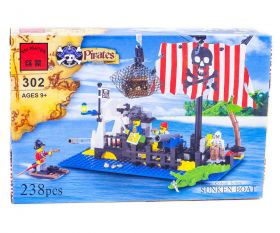 Конструктор Brick Затонувшее судно