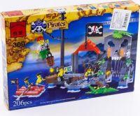 Конструктор Brick Бухта пиратов