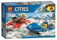 Конструктор City Погоня по горной реке