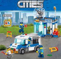 Конструктор City Мобильная тюрьма