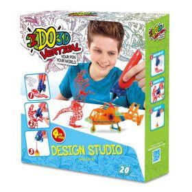 """3D ручка """"Вертикаль"""", 4 шт, Дикие забавы"""