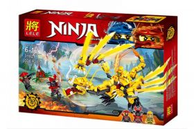 Конструктор Ninja Золотой дракон ниндзя