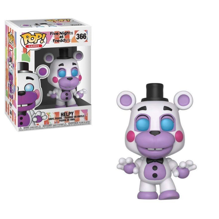 Фигурка Funko POP! Vinyl: Books: FNAF Pizza: Helpy 32059