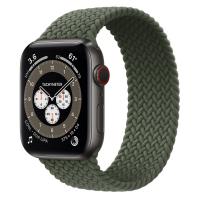 Ремешок Apple Watch Series 6 Inverness Green Braided Solo Loop (для корпуса 44 мм)