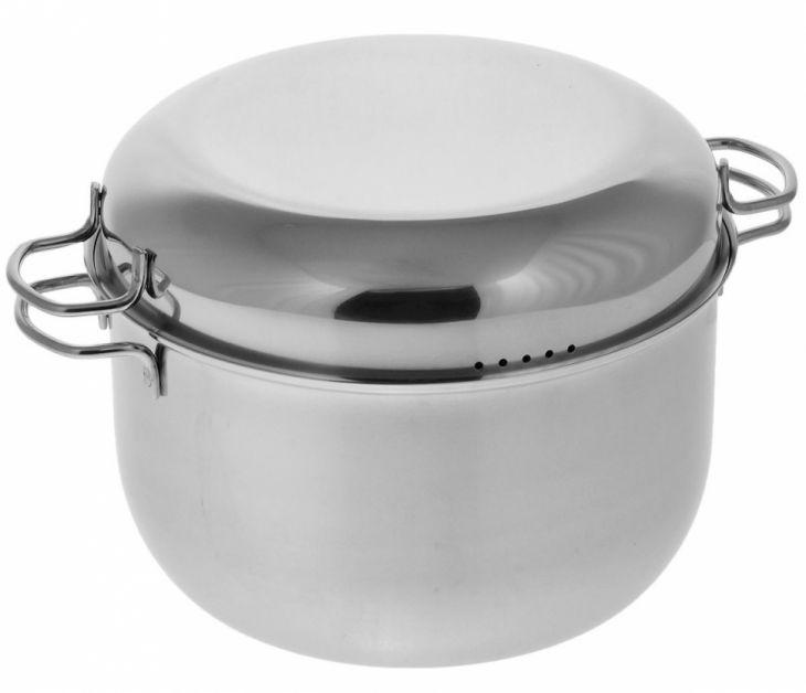 Мантоварка 5л, АМЕТ Классика-Прима, 1С-2340, зеркальная полировка, 3 уровня