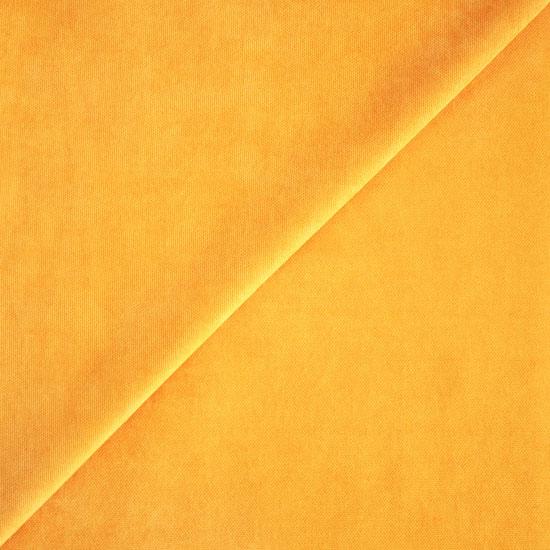 Лоскут ткани - Декоративная парусиновая, однотонный горчичный 50*50 см.