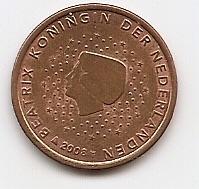 5 евроцентов  Нидерланды 2008