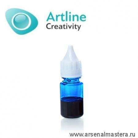 Краситель для эпоксидной смолы жидкий Artline Transparent Colorant 10 мл синий KR-00-005-NVY