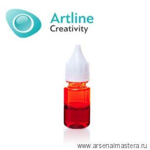 Краситель для эпоксидной смолы жидкий Artline Transparent Colorant 10 мл красный KR-00-005-RED
