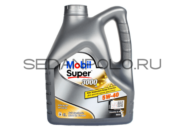 МАСЛО МОТОРНОЕ MOBIL S3000 X1 5W40 4L