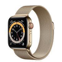 Ремешок Apple Watch Series 6 Gold Milanese Loop (для корпуса 44 мм)