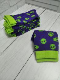 """Мужские носки С459 """"Пришельцы"""""""