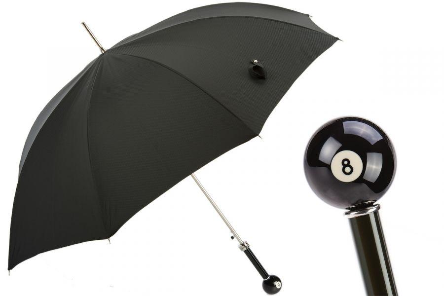 Зонт-трость Pasotti Biliardo Grono Black