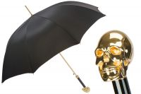 Зонт-трость Pasotti Capo Gold Oxford Black