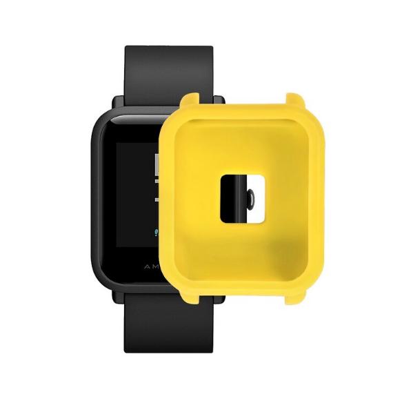 Защитный бампер для Xiaomi Amazfit Bip ( Желтый )