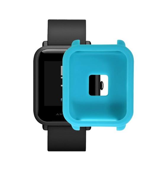 Защитный бампер для Xiaomi Amazfit Bip ( Синий )
