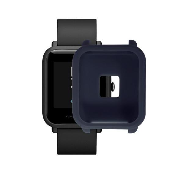 Защитный бампер для Xiaomi Amazfit Bip ( Темно-синий )
