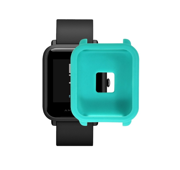 Защитный бампер для Xiaomi Amazfit Bip ( Бирюзовый )