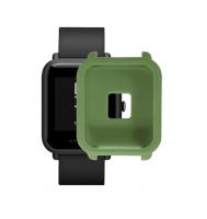 Защитный бампер для Xiaomi Amazfit Bip ( Темно-зеленый )