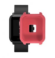 Защитный бампер для Xiaomi Amazfit Bip ( Розовый )