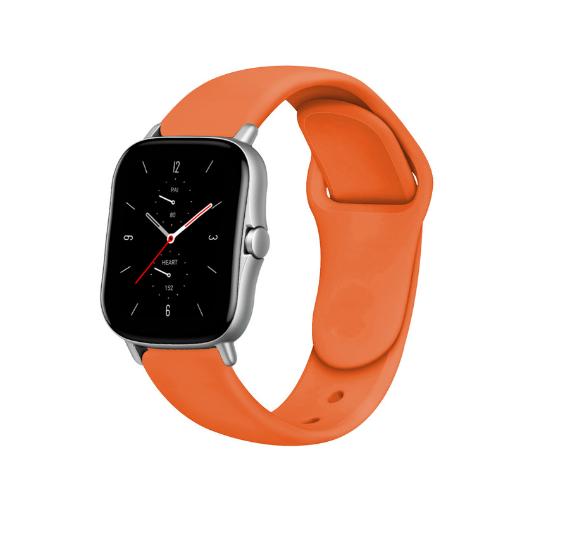 Сменный ремешок для Умных часов  Amazfit Bip Smartwatch (Оранжевый)